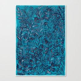 Blue Monday Canvas Print