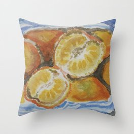 Mandarina Throw Pillow