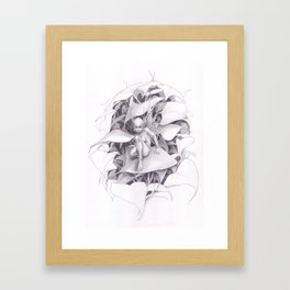 The dark fairy Framed Art Print