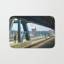 Subway Platform Bath Mat