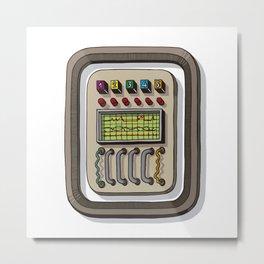 MACHINE LETTERS - O Metal Print