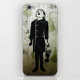 Virus Girl iPhone Skin