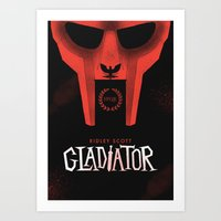 gladiator Art Prints featuring Gladiator by Wharton