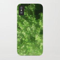 Digital Pointillism iPhone X Slim Case