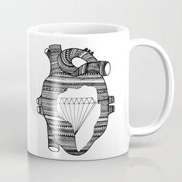 DIAMOND HEART Coffee Mug