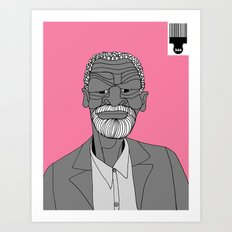 1001 Black Men--#344 Art Print