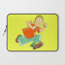 Running boy Laptop Sleeve