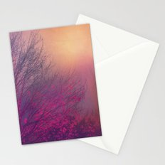 Pink Purple Autumn Dusk Stationery Cards