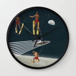 Sky Riders Wall Clock