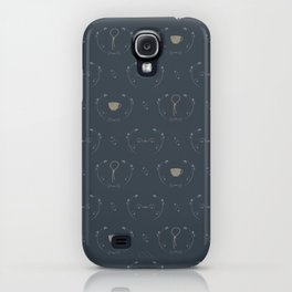 subtle trust pattern II iPhone Case