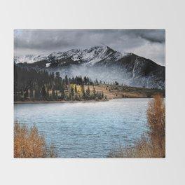 October Morning Throw Blanket