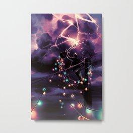 Defy the sky Metal Print