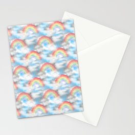 Cloudy With a Chance of Rainbows Stationery Cards