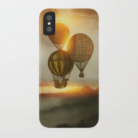 A Trip down the Sunset iPhone Case