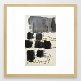 Feelings change (2) Framed Art Print