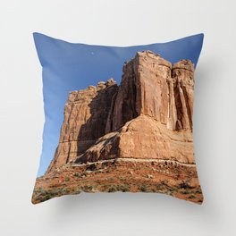 Courthouse Towers - Arches National Park Throw Pillow