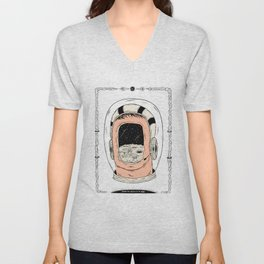 From the Earth to the Moon Unisex V-Neck