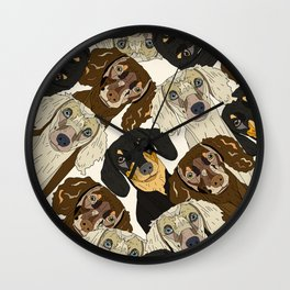 Doxie Nation Wall Clock