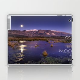 Love you to the moon and back.  Valentine's Day Laptop & iPad Skin