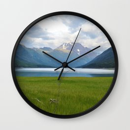 Chugach State Park, Alaska Wall Clock