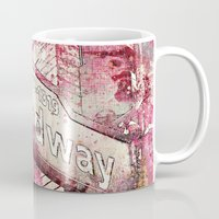 broadway Mugs featuring Broadway by LebensART