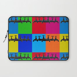 Industrial inspiration for a colorful tap design Laptop Sleeve