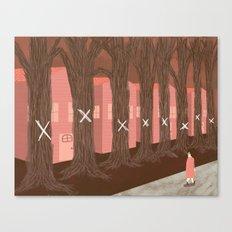 the ash borer Canvas Print