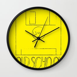 Floppy Disk - OLDSCHOOL Wall Clock