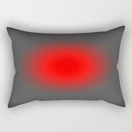 Red & Gray Focus Rectangular Pillow