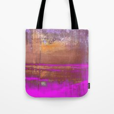 Pink Color Patches Tote Bag