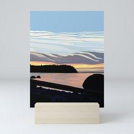 Lakota Beach  Mini Art Print