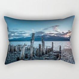 Alaskan Mountain Dawn VI Rectangular Pillow
