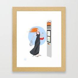 Sighting #2  Framed Art Print
