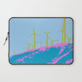 Palm Springs Wind Farm, California Laptop Sleeve