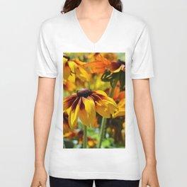 Flower meadow 128 Unisex V-Neck