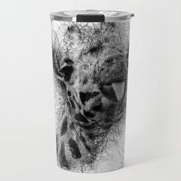 Giraffe line Travel Mug