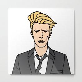 David Bowie – Reality Metal Print