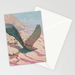 The ancient eagle Stationery Cards
