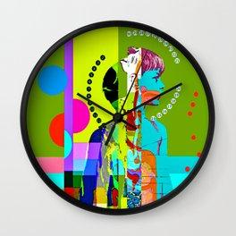 my undigested youth Wall Clock