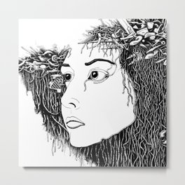 Da Face Metal Print