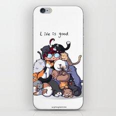 Cat Cave iPhone & iPod Skin