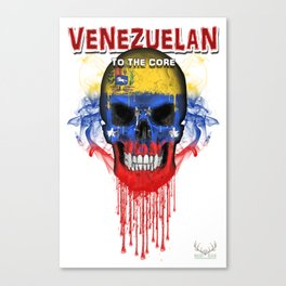 To The Core Collection: Venezuela Canvas Print