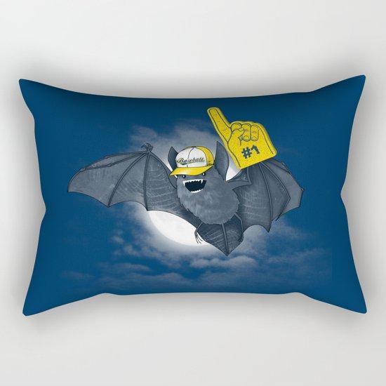 Baseball Bat Rectangular Pillow
