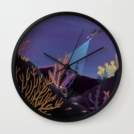 If you come into my heart Wall Clock