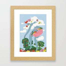 The Giantess Framed Art Print