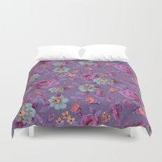Hopeless Romantic - lavender version Duvet Cover