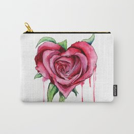 HeartRose Carry-All Pouch