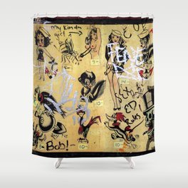 Sex Ed Rules Shower Curtain