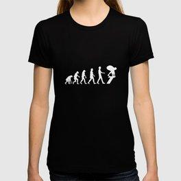 Swimmer Evolution Swimming Gift T-shirt