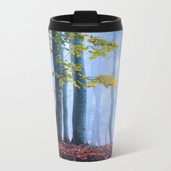 Mysterious Woods Metal Travel Mug